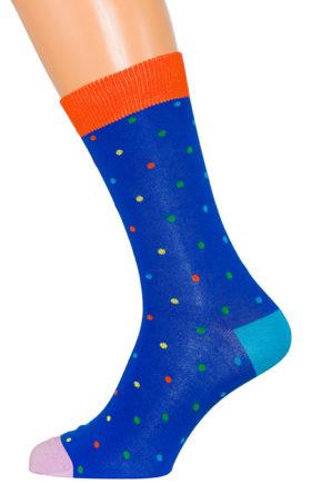 Носки в разноцветный горох XF-41