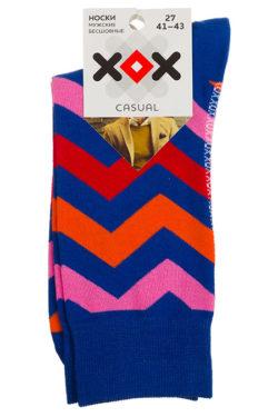Носки в цветную полоску XF-47